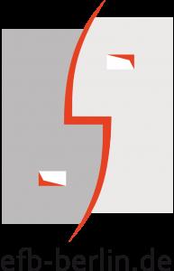 EFB Logo kurz, Text steht unter dem Icon, PNG-Datei